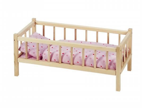 Кроватка для куклы своими руками из дерева своими руками
